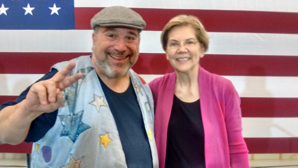 Earthman and Elizabeth Warren